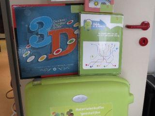 koffer met educatieve materialen rond geestelijke gezondheidsbevordering
